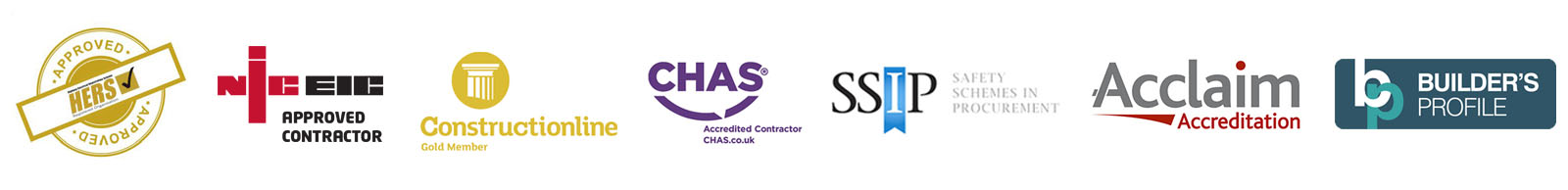 Approved Accreditations